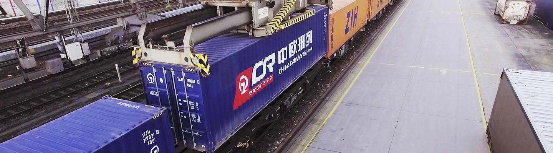 China-Hamburg-Freight-train-video